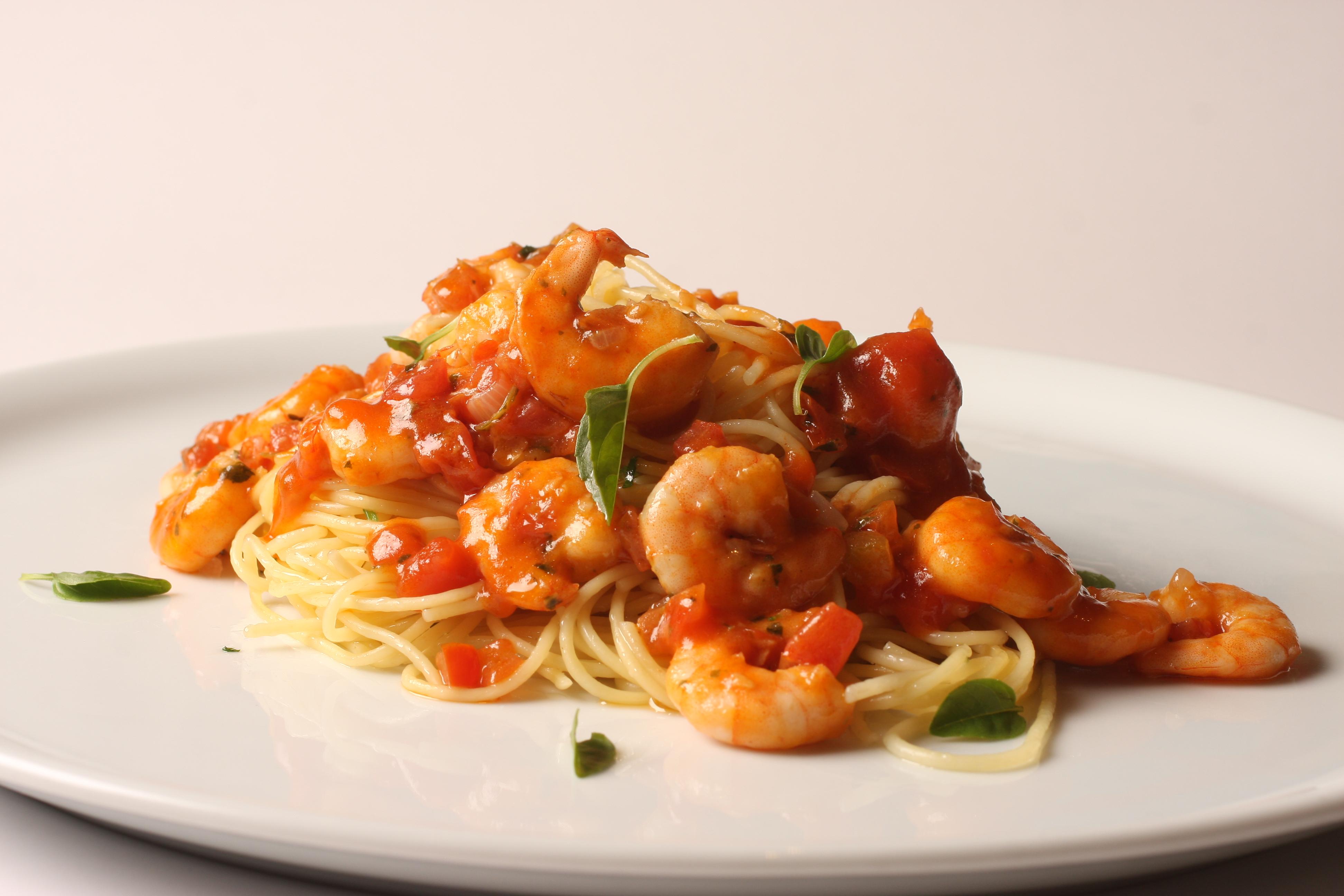 Badebec Campinas - Spaghettini com Camarões